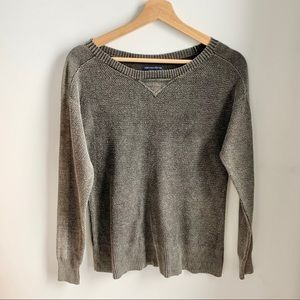 AMERICAN EAGLE  waffle knit top